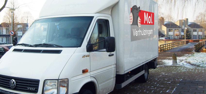 Verhuiswagen - Mol Verhuizingen, Breda